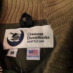 流行に左右されない、タフなダウンジャケット「CRESENT DOWNWORKS」