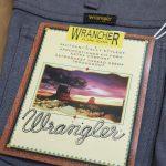 [フレアパンツ、リバイバル!?] WRANGLER FLARE PANTS