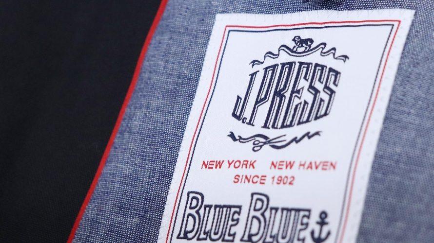 [これぞ「IVY」のブレザー!] J.PRESS×BLUE BLUE / 3B BLAZER