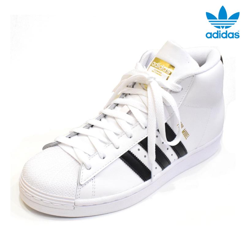 <br>ADIDAS (アディダス) PRO MODEL(プロモデル) FOOTWEAR WHITE/CORE BLACK(フットウェアホワイト/コアブラック) FV5722