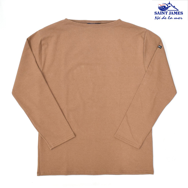 <br>SAINT JAMES(セントジェームス) L/S BOATNECK BASQUE SHIRT(長袖ボートネックバスクシャツ) OUESSANT(ウエッソン) NOISETTE 正規代理店取扱品 4