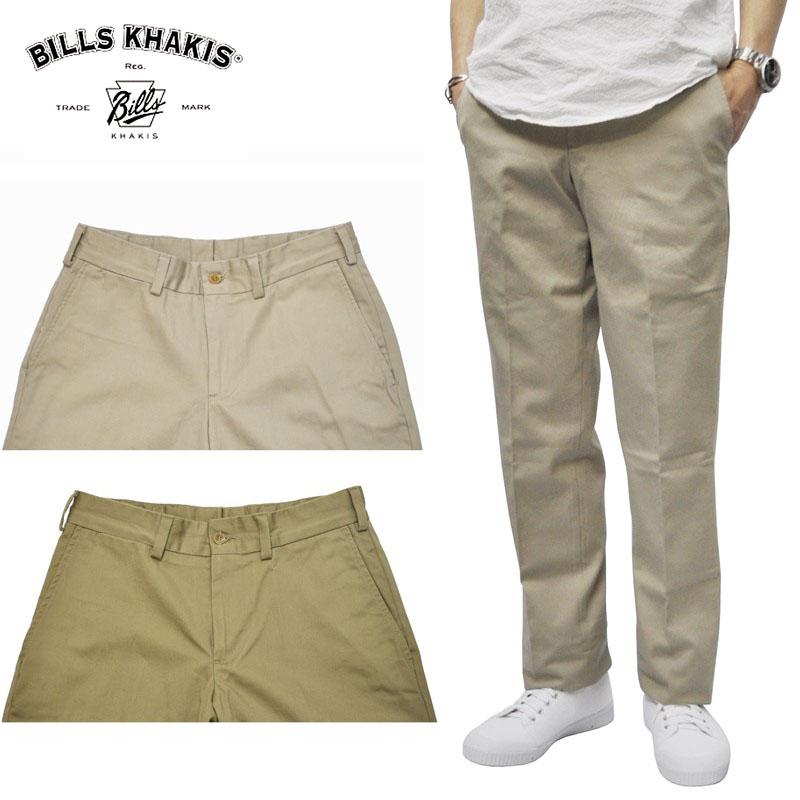 【9/22 UPLOAD】<br>【2 COLORS】BILLS KHAKIS チノパンツ M3 PLAIN FRONT TRIM FIT (再入荷)