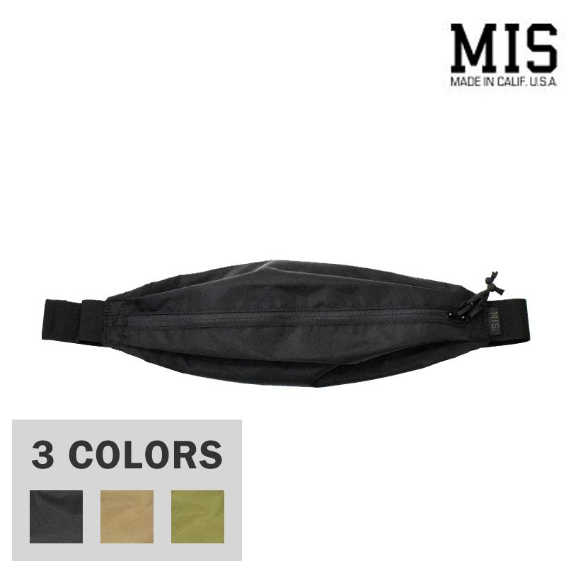 <br>【3 COLORS】M.I.S 【MADE IN U.S.A】BODY BAG(ボディバッグ) PACKCLOTH NYLON(パッククロスナイロン) MIS-1033