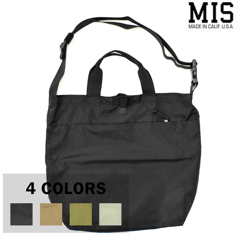 <br>【4 COLORS】M.I.S 【MADE IN U.S.A】2WAY SHOULDER BAG(2ウェイショルダーバッグ) MIS-P102