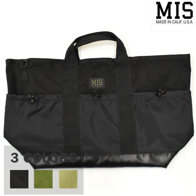 <br>【3 COLORS】M.I.S 【MADE IN U.S.A】MULTI POCKET TOTE BAG(マルチポケットトートバッグ) CORDURA NYLON(コーデュラナイロン) MIS-1036