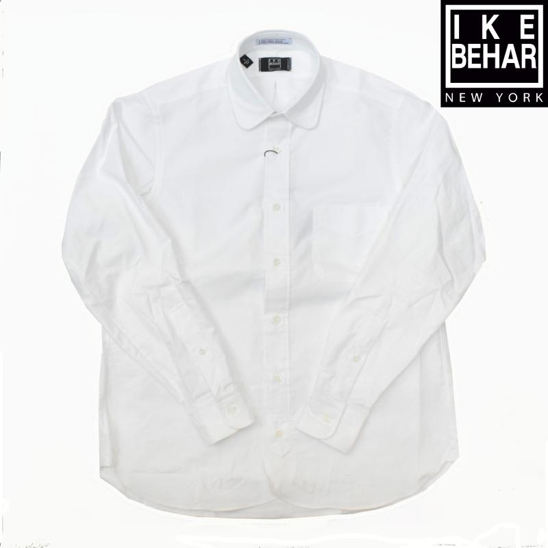 <br>IKE BEHAR(アイク ベーハー) L/S ROUND COLLAR SHIRTS(長袖ラウンドカラーシャツ) OXFORD(オックスフォード) GARLAND
