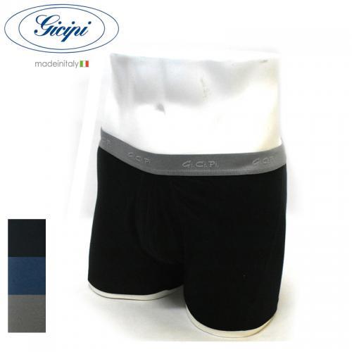 <br>【3 COLORS】GICIPI(ジチピ) 【MADE ITALY】ELASTICO BOXER SHORT BRIEFS (イタリア製 ボクサー ショート パンツ / ブリーフパンツ)