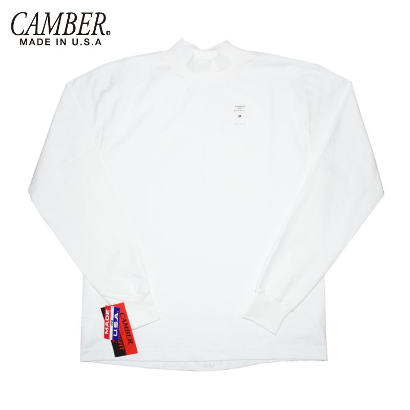 <br>CAMBER(キャンバー)【MADE IN U.S.A】 L/S MAX WEIGHT MOCK NECK T-SHIRTS(アメリカ製 長袖マックスウェイト モックネックTシャツ)