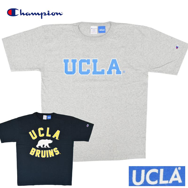<br>【2 COLOR】CHAMPION(チャンピオン) T1011 S/S COLLEGE PRINT T-SHIRTS(半袖 カレッジプリント Tシャツ) UCLA(ユーシーエルエー)