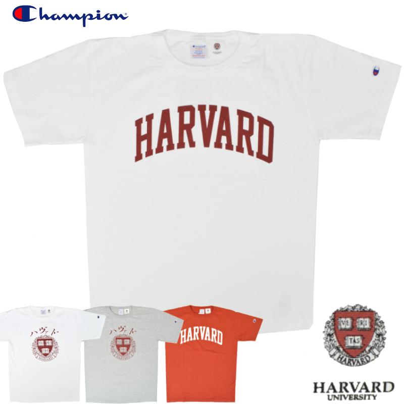 <br>【4 COLOR】CHAMPION(チャンピオン) T1011 S/S COLLEGE PRINT T-SHIRTS(半袖 カレッジプリント Tシャツ) HARVARD(ハーバード)