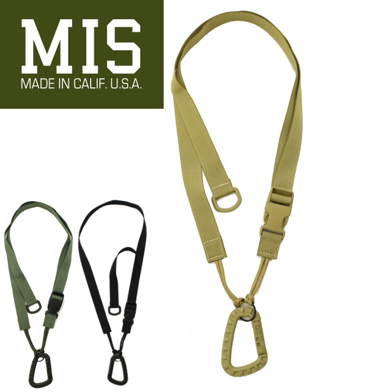 <br>【3 COLORS】M.I.S 【MADE IN U.S.A】TACTICAL KEY STRAP(タクティカル キーストラップ) MIS-1039