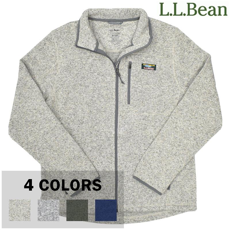 <br>【4 COLORS】L.L.BEAN (エルエルビーン) SWEATER FLEECE FULL-ZIP JACKET(セーター フリース フルジップ ジャケット)