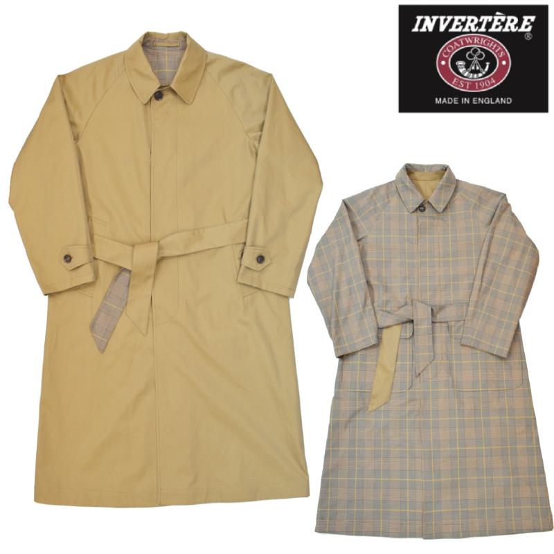 <br>INVERTERE(インバーティア) SOUTIEN COLLAR REVERSIBLE COAT(ステンカラーリバーシブルコート)