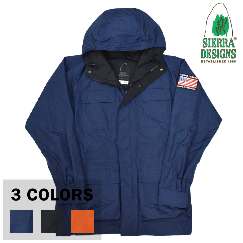 <br>【3 COLORS】SIERRA DESIGNS(シェラデザイン) 【MADE IN USA】 60/40 MOUNTAIN PARKA(アメリカ製 ロクヨンクロス マウンテンパーカー) with USA EMBLEM WAPPEN