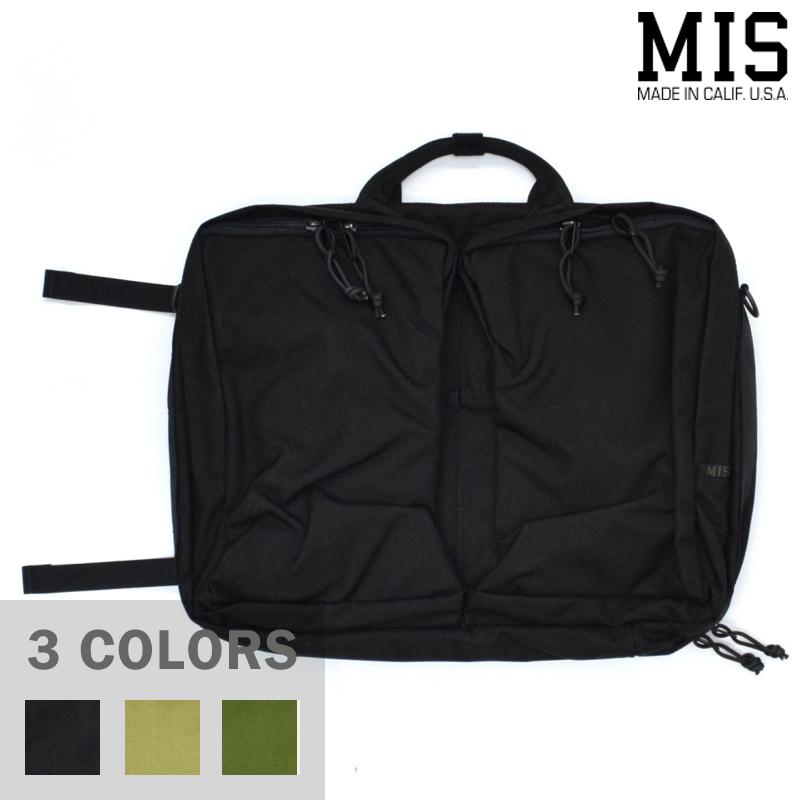 <br>【3 COLORS】M.I.S 【MADE IN U.S.A】3WAY BRIEF BAG(3ウェイ ブリーフバッグ) CORDURA NYLON(コーデュラナイロン) MIS-1029