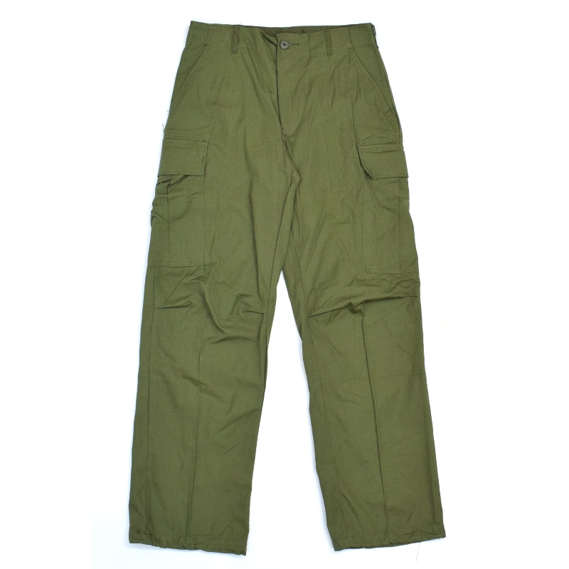 <br>MILITARY(ミリタリー) DEAD STOCK(デッドストック) 60's U.S.ARMY JUNGLE FATIGUE PANTS(ジャングルファティーグパンツ) SINGLE STITCH(シングルステッチ) RIP STOP OLIVE